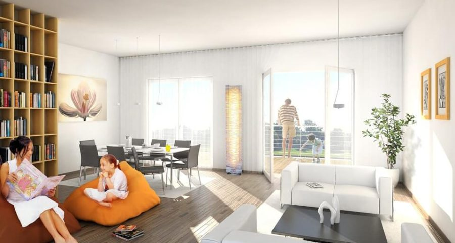 mini rolety świetnie nadają się do mieszkania