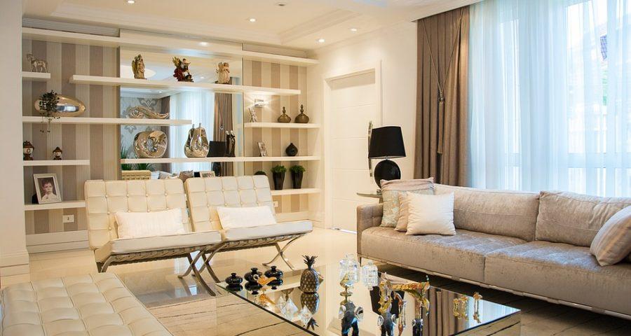 rolety zamontowane w domu szeregowym